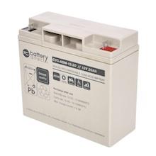 12V 20Ah battery, cyclic Sealed Lead Acid battery (AGM), battery-direct CYC-AGM-12-20, 181x76x166 mm (LxWxH), Terminal B1 (Fitting M5 bolt and nut)