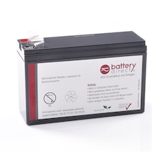 Battery kit for APC Back UPS ES 400 replaces APCRBC106