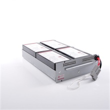 Battery kit for APC Smart UPS 1000 replaces APC RBC23
