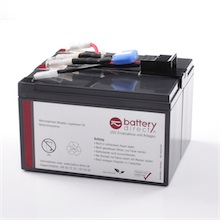Battery kit for APC Smart UPS 750 replaces APC RBC48