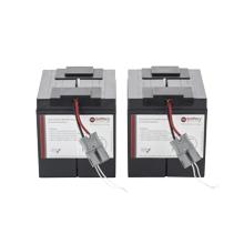 Battery kit for APC Smart UPS replaces APC RBC55