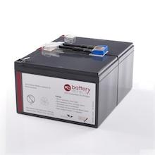 Battery kit for APC Smart UPS 700/1000/1500 and APC Back UPS Pro 1000 replaces APC RBC6