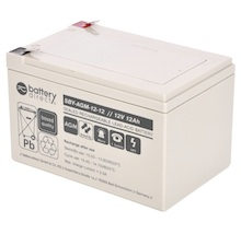 12V 12Ah battery, Sealed Lead Acid battery (AGM), battery-direct SBY-AGM-12-12, 151x98x95 mm (LxWxH), Terminal T2 Faston 250 (6,3 mm)
