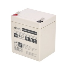 12V 5.5Ah Battery, Sealed Lead Acid battery (AGM), battery-direct SBYH-AGM-12-5.5, 90x70x101 mm (LxWxH), Terminal T2 Faston 250 (6,3 mm)