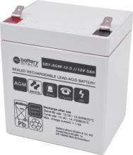 Battery for Eaton-MGE Ellipse ASR 450, replaces 2001627 battery