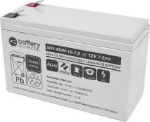Battery for Eaton Ellipse ECO 650VA, replaces 7590115 battery