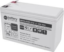 Battery for Eaton-MGE Ellipse ASR 750, replaces 7590116 battery