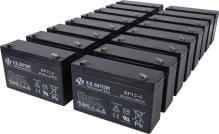 Batteries for MGE model: Pulsar ESV EXB 22+ XLA