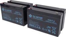 Battery for Eaton-MGE Evolution 850, replaces 7590101 battery