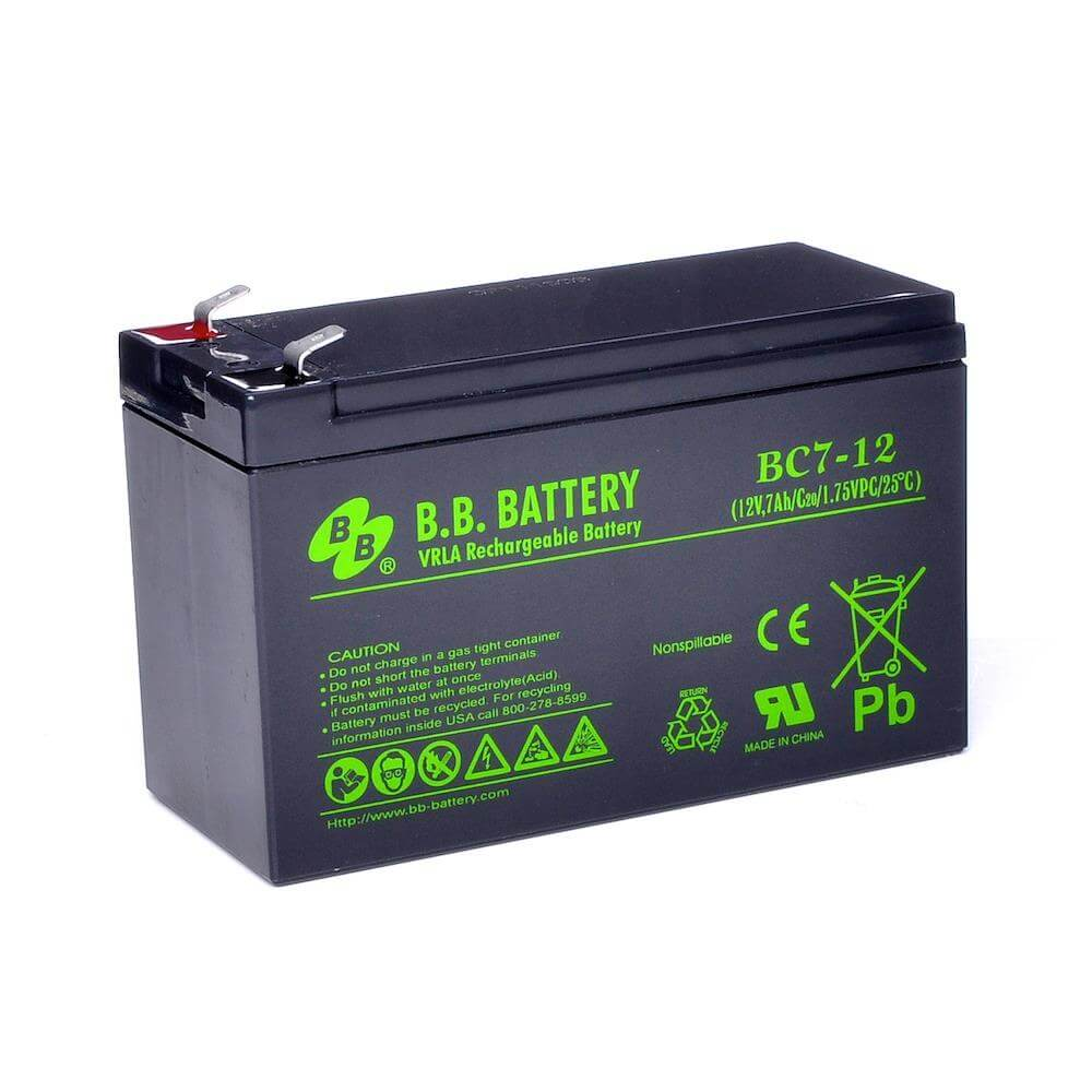 12v 7ah battery sealed lead acid battery agm b b battery bc7 12 151x65x93 mm lxwxh. Black Bedroom Furniture Sets. Home Design Ideas