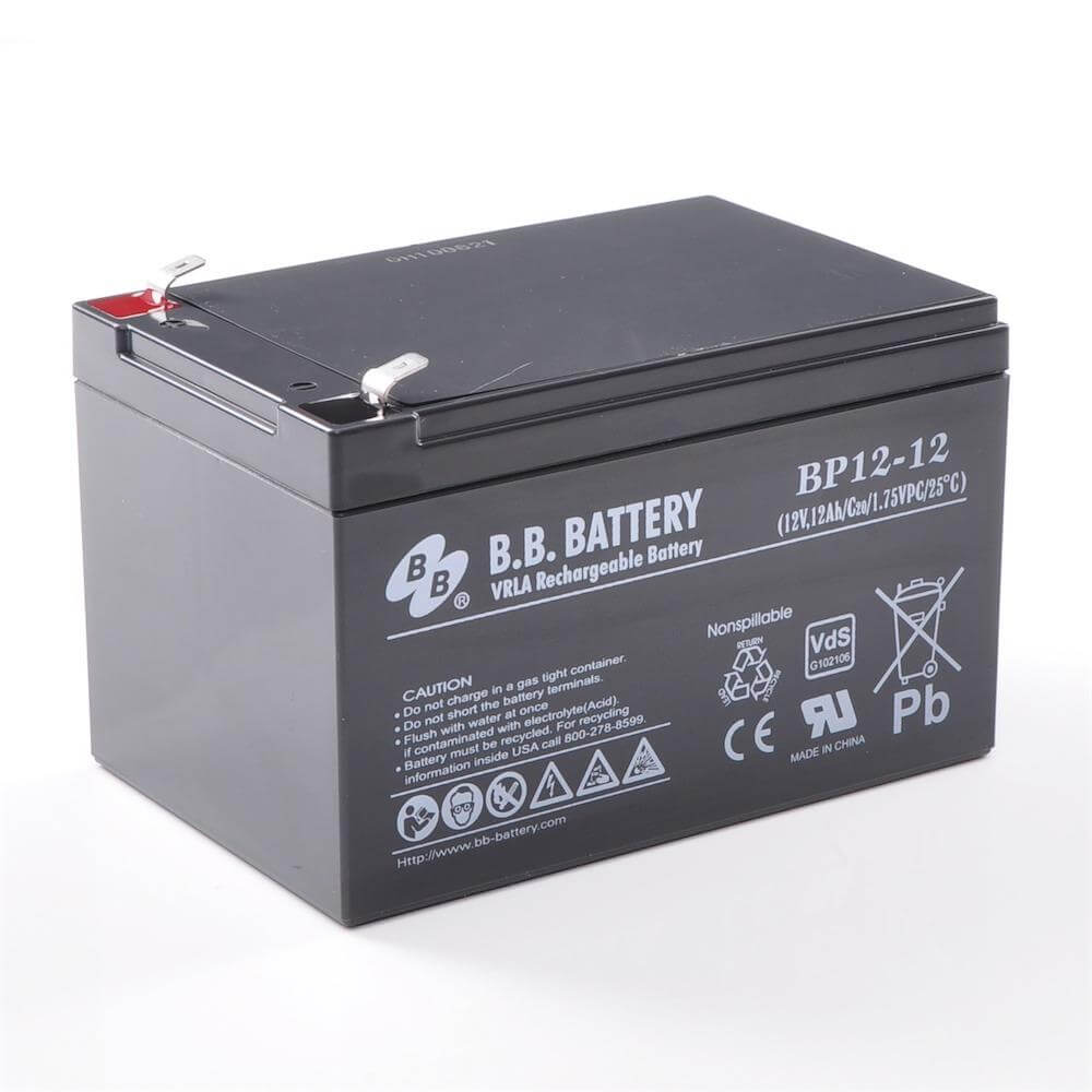 12v 12ah battery sealed lead acid battery agm b b. Black Bedroom Furniture Sets. Home Design Ideas
