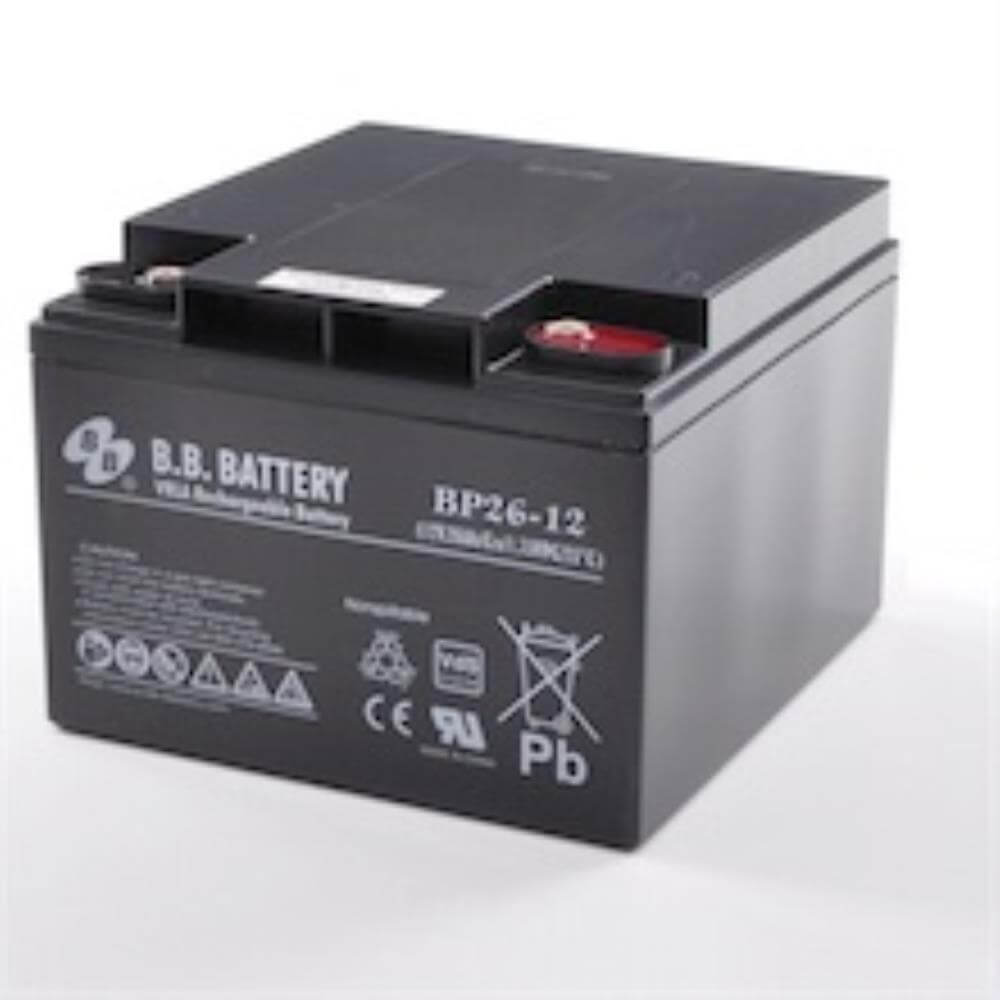 12v 26ah battery sealed lead acid battery agm b b battery bp26 12 vds 175x166x123 mm. Black Bedroom Furniture Sets. Home Design Ideas