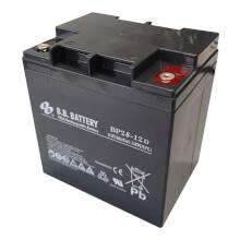 12V 28Ah Battery, Sealed Lead Acid battery (AGM), B.B. Battery BP28-12D, 165x125x175 mm (LxWxH), Terminal TP (round terminal, stud M5)