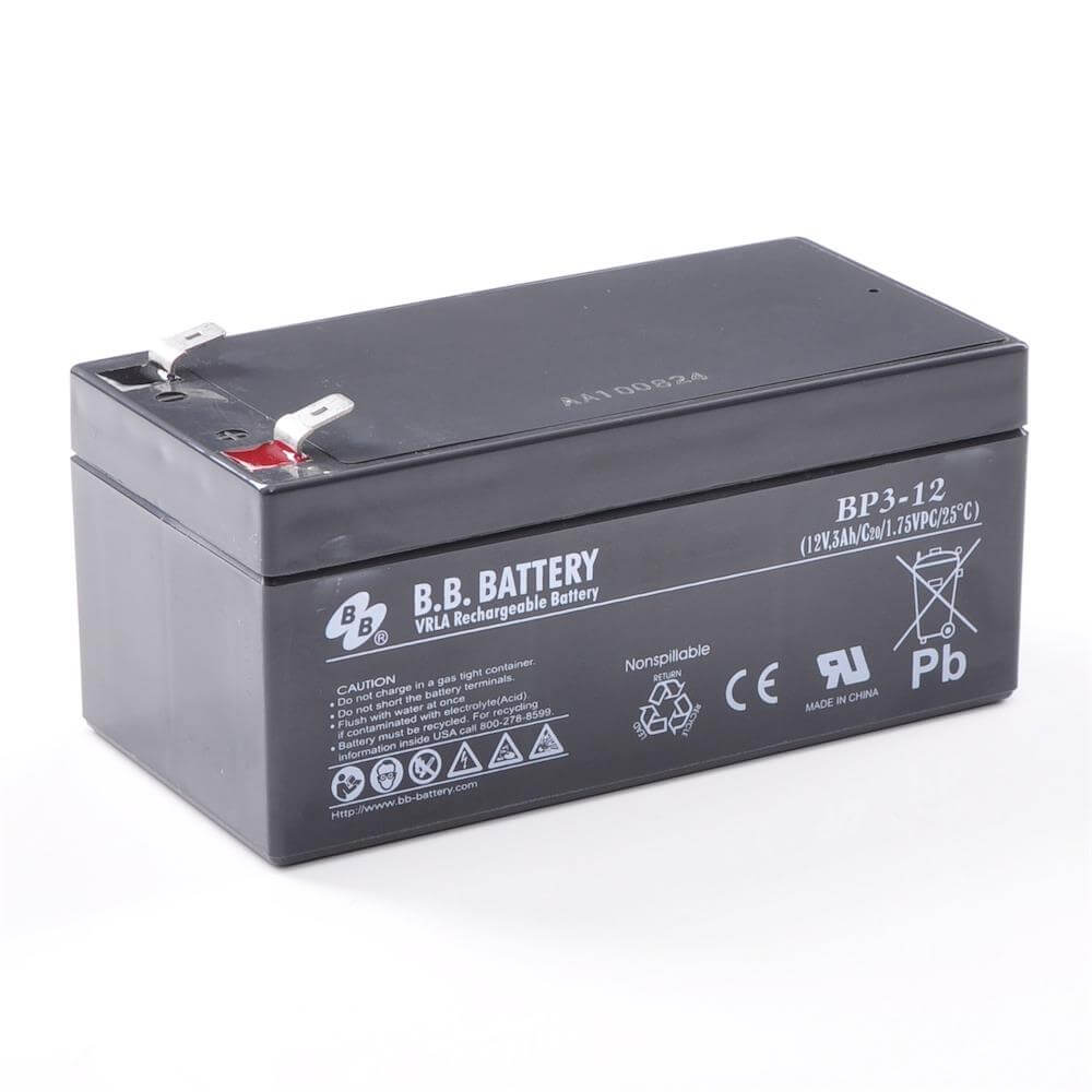 12v 3ah battery sealed lead acid battery agm b b battery bp3 12 134x67x60 mm lxwxh. Black Bedroom Furniture Sets. Home Design Ideas