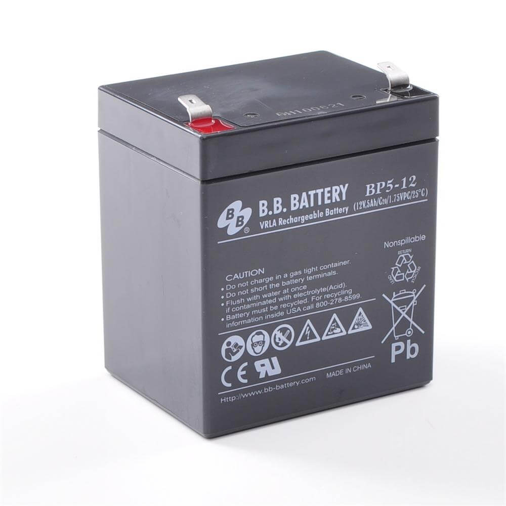 12v 5ah battery sealed lead acid battery agm b b battery bp5 12 90x70x102 mm lxwxh