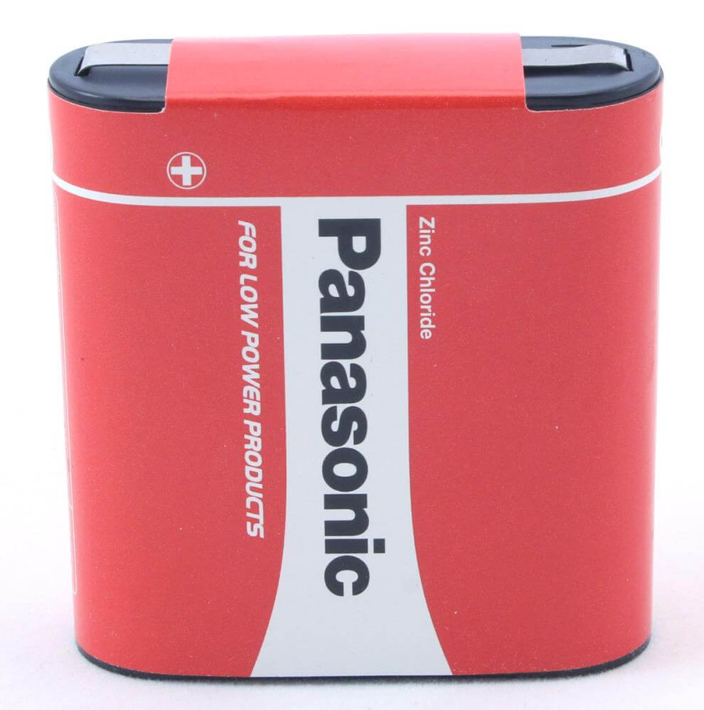 Panasonic Zinc Coal Flat Battery 3r12r Special Power Pz