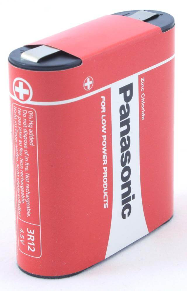 Panasonic Zinc Coal Flat Battery 3r12r Special Power Pz
