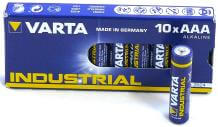 Varta Industrial 10 pieces Micro AAA Battery Alkaline 4003 LR03