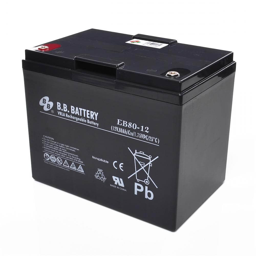 12v 80ah battery sealed lead acid battery agm b b battery eb80 12 260x165x209 mm lxwxh. Black Bedroom Furniture Sets. Home Design Ideas