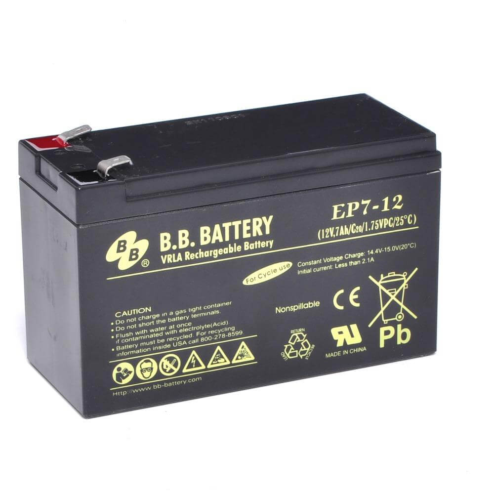 12v 7ah battery sealed lead acid battery agm b b battery ep7 12 151x65x93 mm lxwxh. Black Bedroom Furniture Sets. Home Design Ideas