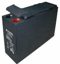 12V 100Ah Battery, Sealed Lead Acid battery (AGM), B.B. Battery FTB100-12, 394x110x285 mm (LxWxH), Terminal I2 (Insert M6)