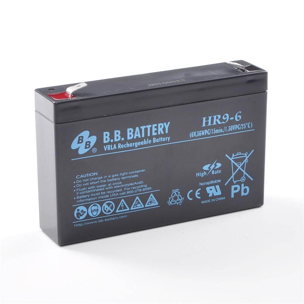 6v 9ah Battery Sealed Lead Acid Battery Agm B B