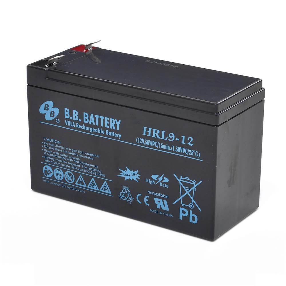 12v 9ah battery sealed lead acid battery agm b b battery hrl9 12 151x65x94 mm lxwxh. Black Bedroom Furniture Sets. Home Design Ideas