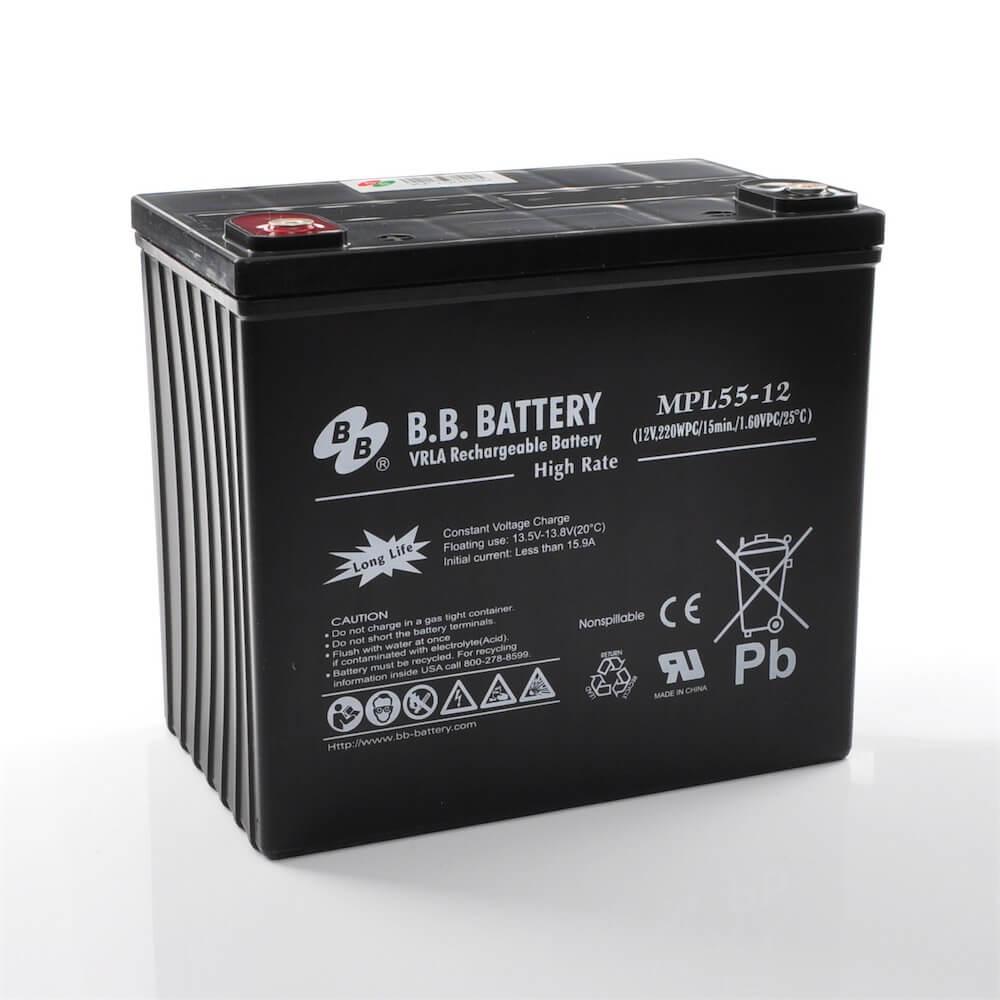12v 55ah Battery Sealed Lead Acid Battery Agm B B