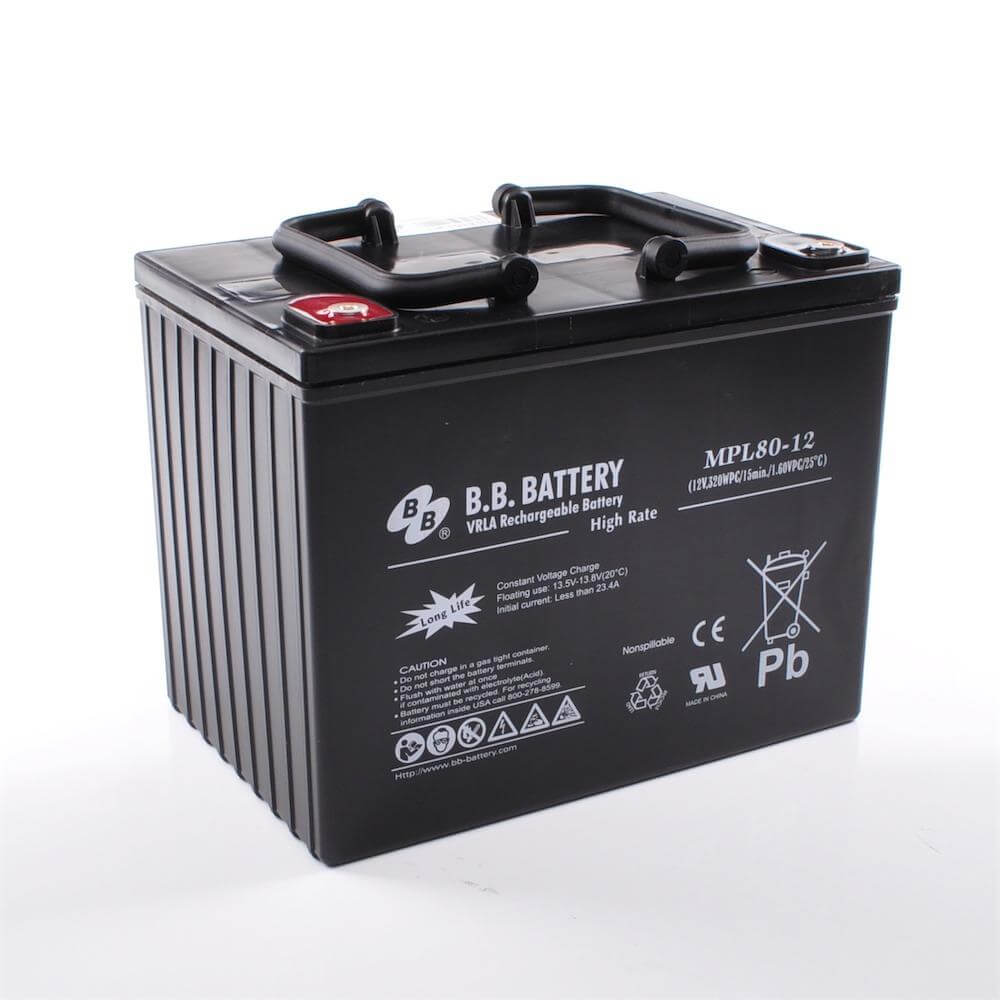 12v 80ah battery sealed lead acid battery agm b b battery mpl80 12 h 261x173x200 mm lxwxh. Black Bedroom Furniture Sets. Home Design Ideas