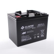 12V 80Ah Battery, Sealed Lead Acid battery (AGM), B.B. Battery MPL80-12 H, 261x173x200 mm (LxWxH), Terminal I2 (Insert M6)