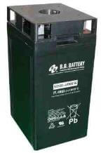 2V 400Ah Battery, Sealed Lead Acid battery (AGM), B.B. Battery MSB-400, 211x176x357 mm (LxWxH), Terminal B6 (Fitting M8 bolt and nut)
