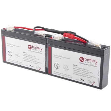 battery kit for apc smart ups sc 250 450 and apc. Black Bedroom Furniture Sets. Home Design Ideas