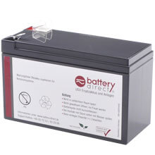 Battery kit for APC Smart UPS 420 and APC Back UPS replaces APC RBC2