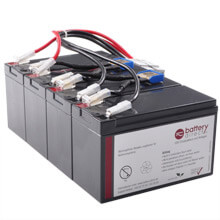 Battery kit for APC Smart UPS XL 1400 replaces APC RBC25