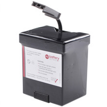Battery kit for APC Back UPS ES 500 replaces APC RBC30