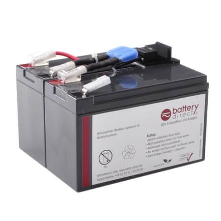 Battery kit for APC Smart UPS 750 replaces APC RBC48 - RBC48-BD1
