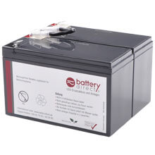 Battery kit for APC Smart UPS 450/600/700 replaces APC RBC5