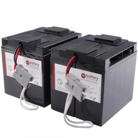 Battery kit for APC Smart UPS replaces APC RBC55 - RBC55-BD1