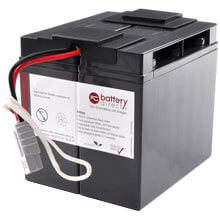Battery kit for APC Smart UPS replaces APC RBC7