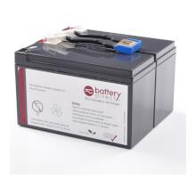 Battery kit for APC Smart UPS C 1000 replaces APCRBC142