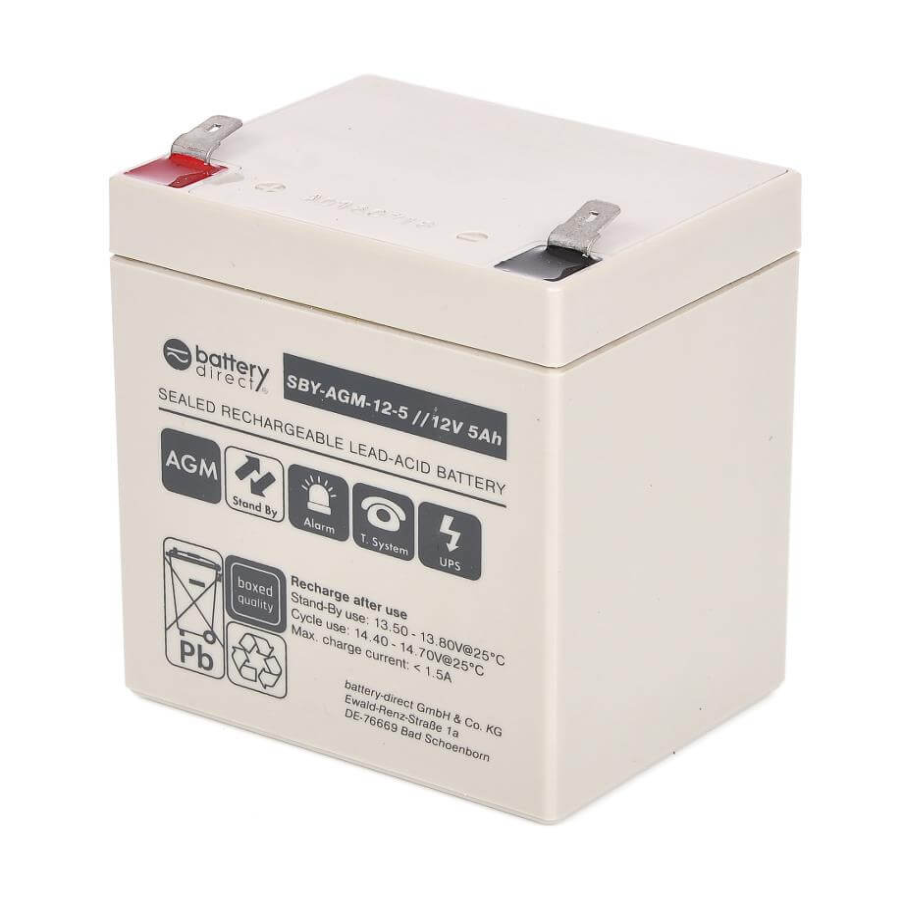 12v 5ah Battery Sealed Lead Acid Battery Agm Battery