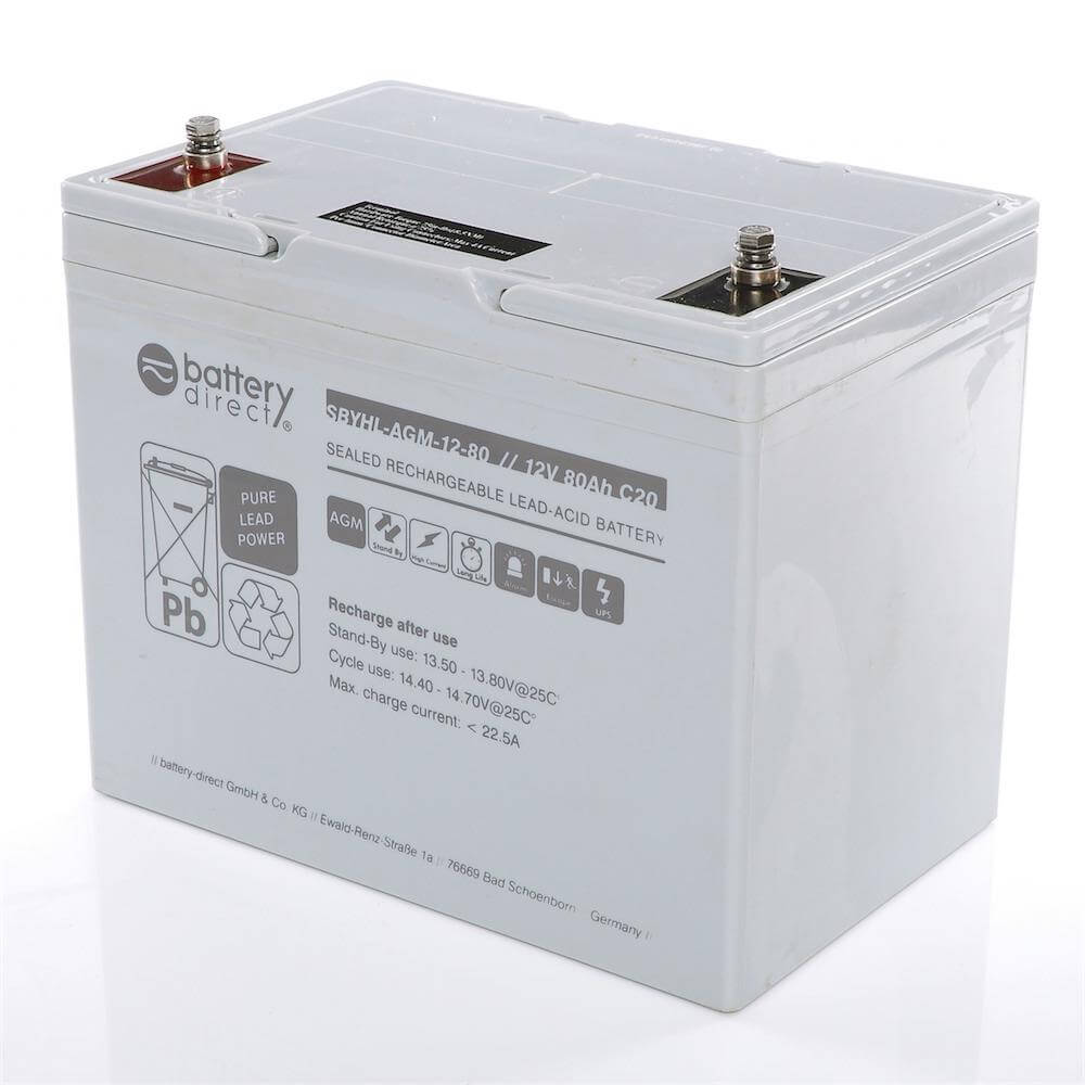 12v 80ah Battery Sealed Lead Acid Battery Agm Battery